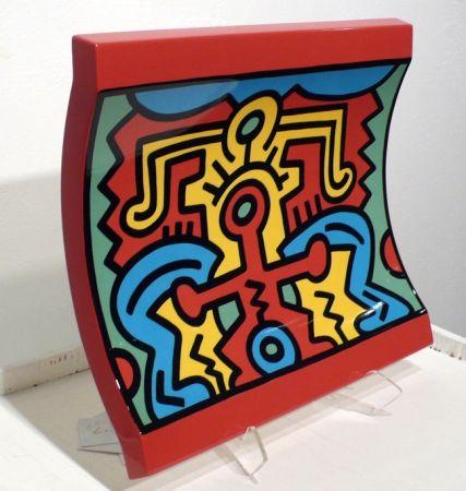 Ceramic Haring - No 2 Spirit of Art, New York-Soho