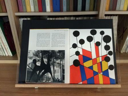 Lithograph Calder - No 37