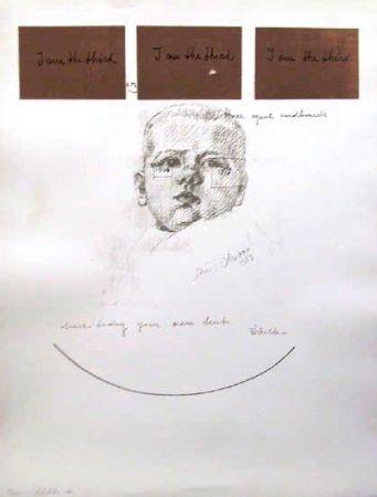 Screenprint Pistoletto - No. 6 from I am the Third Portfolio