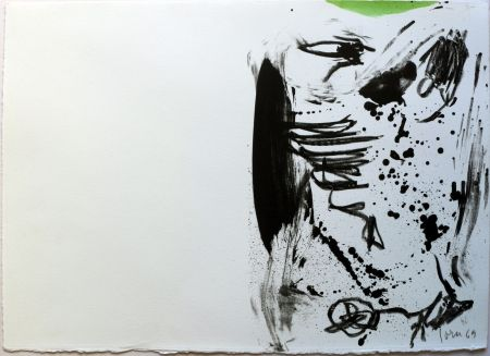 Lithograph Jorn - No title