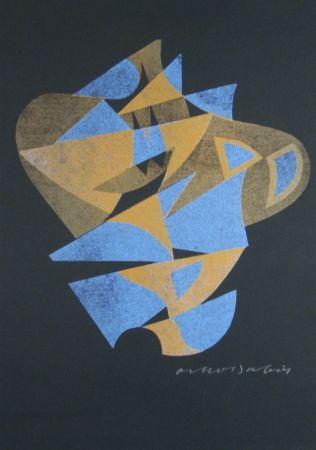 Woodcut Dalvit - No title