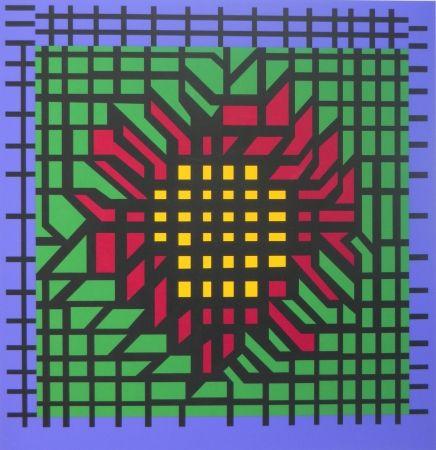 Screenprint Vasarely - No title