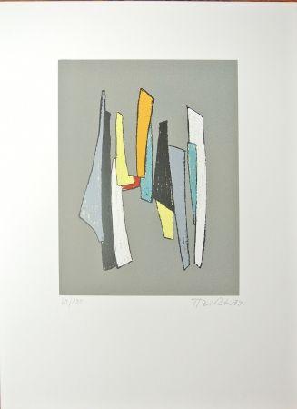 Lithograph Richter - No title