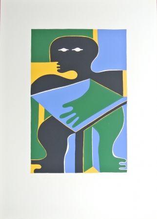 Lithograph Baumgartner - No title