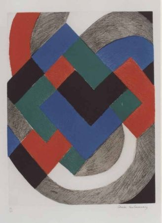 Etching Delaunay - No title