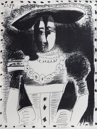 Lithograph Picasso - Nobel Dame