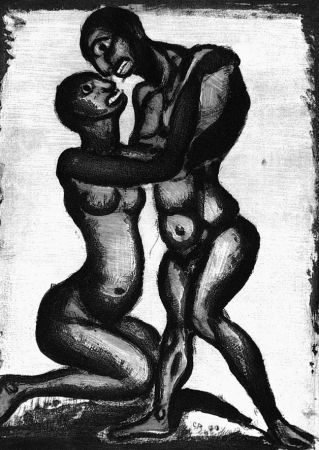 Aquatint Rouault - Noces