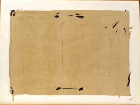 Lithograph Tàpies - Nocturn Matinal