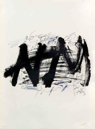 Lithograph Tapies - NOCTURN MATINAL