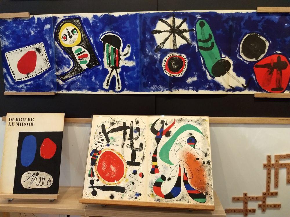 Illustrated Book Miró - Nocturne
