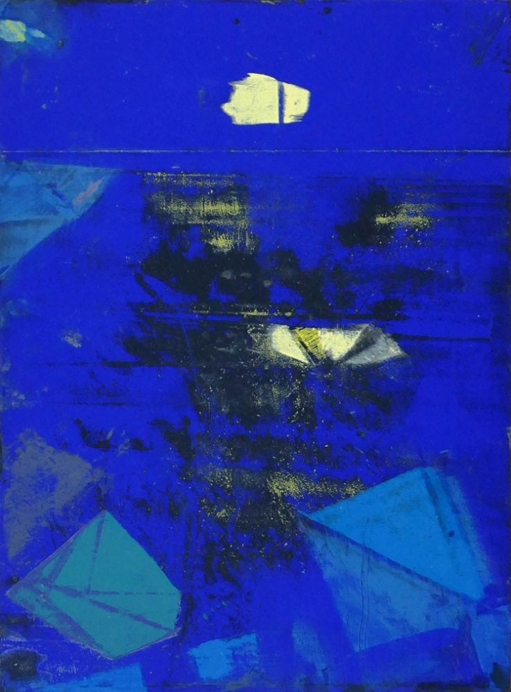 Lithograph Ernst - Nocturne