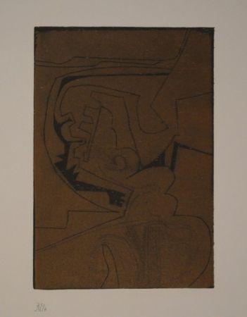 Woodcut Müller - Nocturne