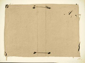Lithograph Tàpies - NOCTURNO MATINAL
