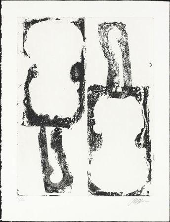 Engraving Arman - Noir et Blanc
