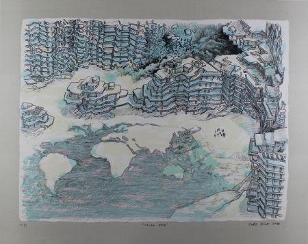 Lithograph Oiwa - North Pole
