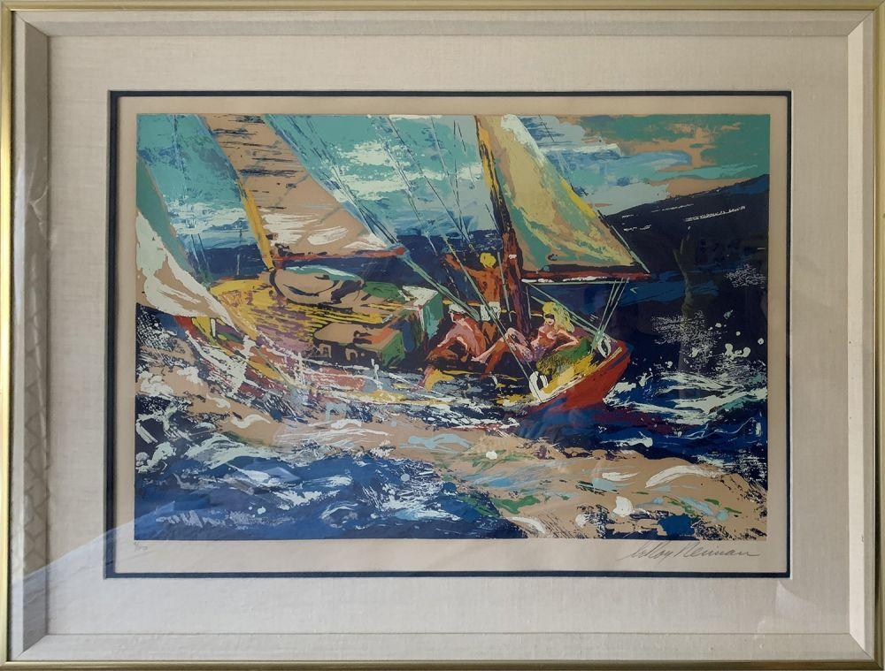Screenprint Neiman - North Sea Sailing