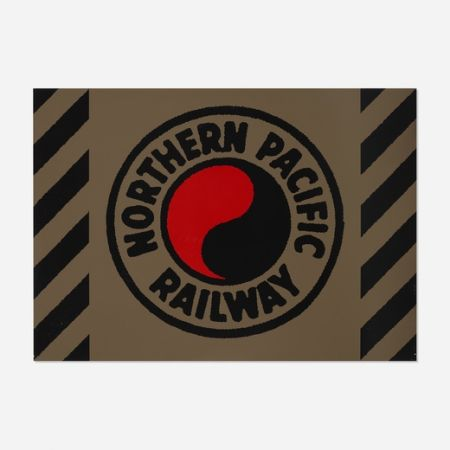 Screenprint Cottingham - Northern Pacific Railway