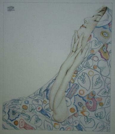 Lithograph Sauer - Nostalgie