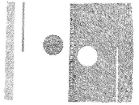 Etching Korompay - Notte e giorno