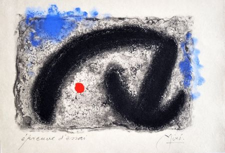 Etching Miró - Nous Avons III