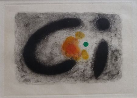 Etching And Aquatint Miró - Nous Avons No 2
