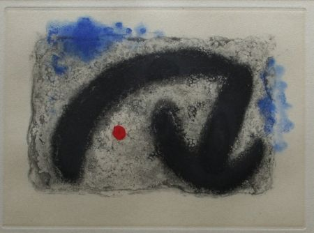 Etching And Aquatint Miró - Nous Avons No 3