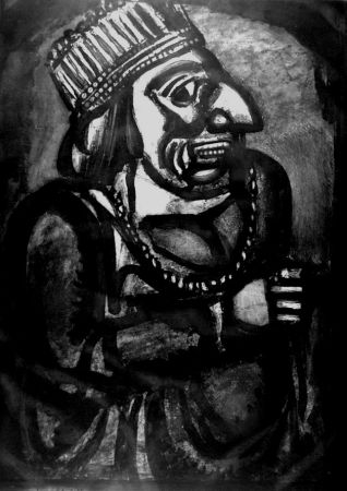 Etching And Aquatint Rouault - Nous croyant rois