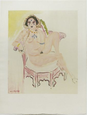 Lithograph Matisse - Nu