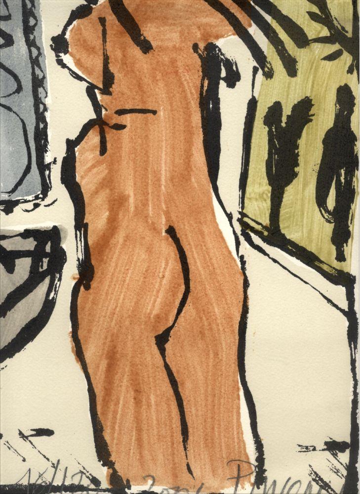 Screenprint Pincemin - Nu - collection Naked
