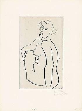 Etching Matisse -