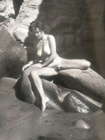 Photography De Dienes  - Nu au rocher