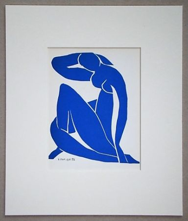Lithograph Matisse (After) - Nu bleu - 1952