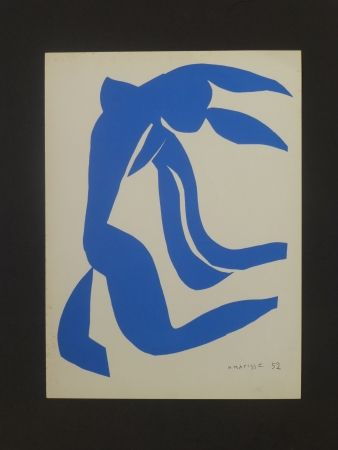Lithograph Matisse - Nu bleu, 1952