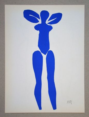 Lithograph Matisse (After) - Nu bleu debout - 1952