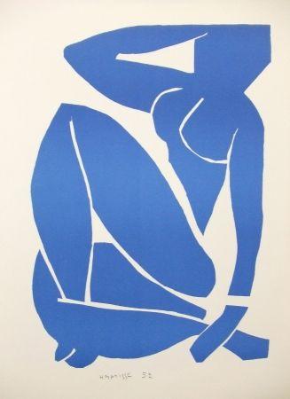 Lithograph Matisse - Nu bleu (III)
