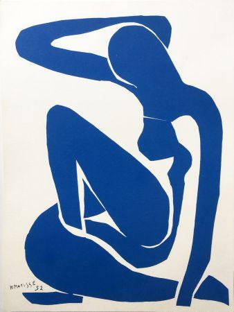 Lithograph Matisse - NU BLEU III (1952/1958)