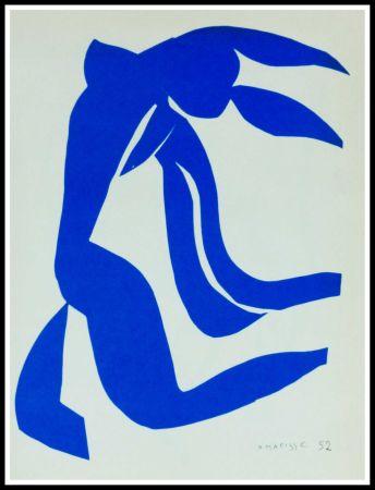 Lithograph Matisse (After) - NU BLEU VII