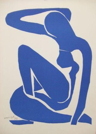 Lithograph Matisse - Nu bleu(I)