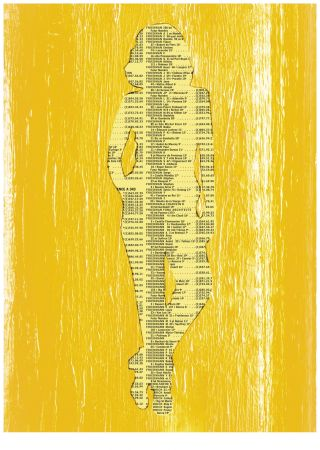 Screenprint Friedmann - Nu (Collection Naked)