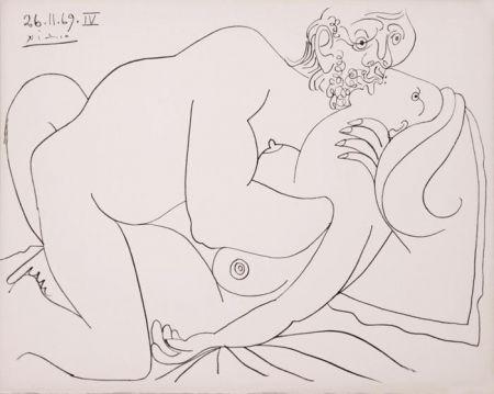 Lithograph Picasso - Nu Couché IV