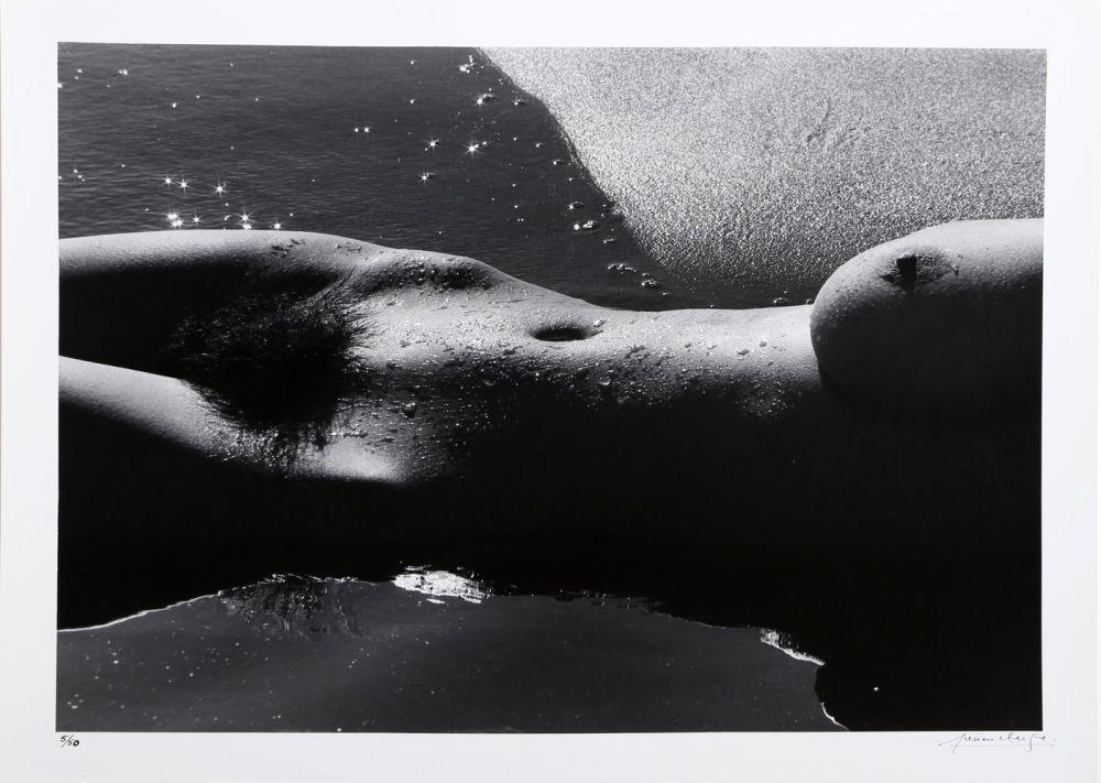 Photography Clergue - Nu de la Mer (No. 5)