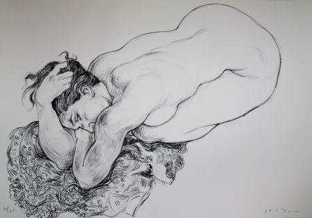 Lithograph Bastow - Nu  Féminin / Female Nude - 2
