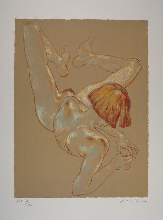Lithograph Bastow - Nu  Féminin / Female Nude - 3