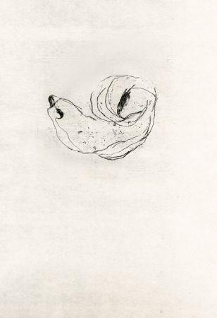 Engraving Fautrier - Nu (Fautrier l'enragé)
