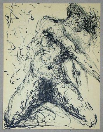 Lithograph Dali - Nu Gris