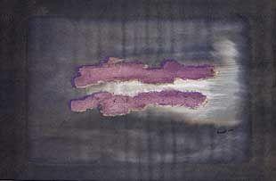 Lithograph Fautrier - Nuage 1