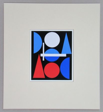 Screenprint Herbin - Nue - 1960