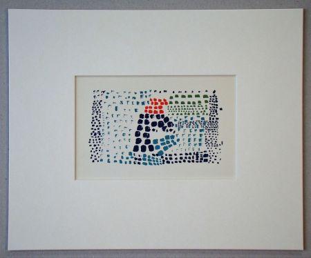 Lithograph De Stael - Nuit au Parc des Princes - 1952