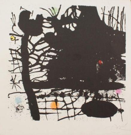 Lithograph Miró - NUIT TENTACULAIRE