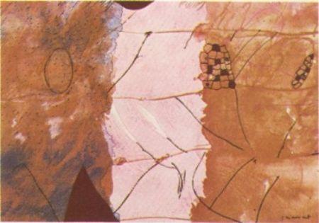 Lithograph Guégan - Nura